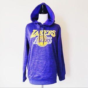 NBA LA Los Angeles Lakers Hoodie Sweatshirt Purple